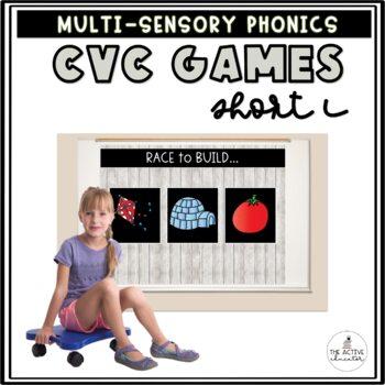 Race to Build: CVC Words!  Vol. 2: Short I