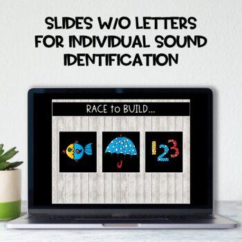 Race to Build: CVC Words!  Vol. 5: Short U