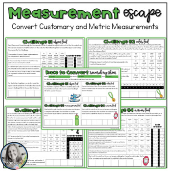 Race to Convert Measurements - Customary and Metric
