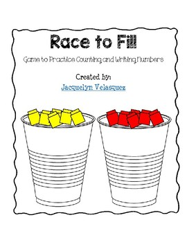 Race to Fill...A Counting Game
