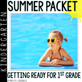 Kindergarten Summer Packet: Summer Review for Kindergarteners Entering 1st Grade