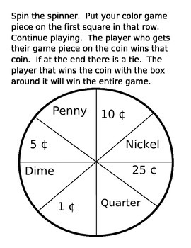 Race to Get the Coin Game