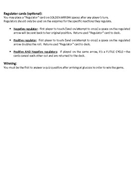 Race to Glucose Semi-Electronic Game Instructions