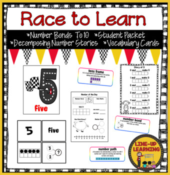 Race to Learn Number Bonds 1 to 10