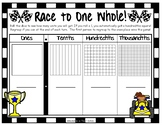Race to One Whole - Decimal Place Value Game