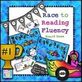 Sight Word Games Kindergarten 1st | Race to Reading Fluency Board Game