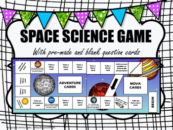 Race to Saturn: A Space Science Board Game