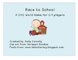 Race to School A CVC Word Game