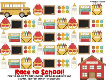 Race to School Math Game