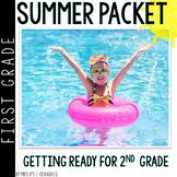First Grade Summer Packet: Summer Review for 1st Graders Entering 2nd Grade