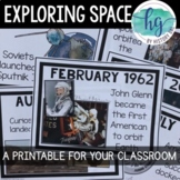 Race to Space Timeline {Printable for Classroom}