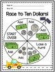 Race to Ten Dollars: Money Counting and Adding Game