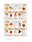 Race to Thanksgiving Dinner!!  Thanksgiving Math Game.