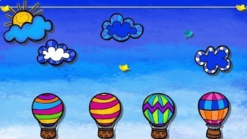 Race to The Finish Review Game– Hot Air Balloon Edition