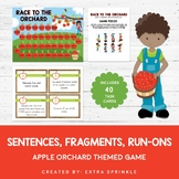 Race to The Orchard Sentences, Fragments, Run-Ons Board Game