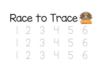 Race to Trace Thanksgiving
