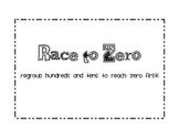 Race to Zero - Subtraction