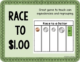 Race to a Dollar Money Game
