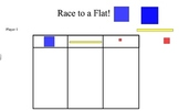 Race to a Flat- Place Value