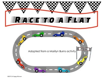 Race to a Flat - Second Grade (UPDATED)
