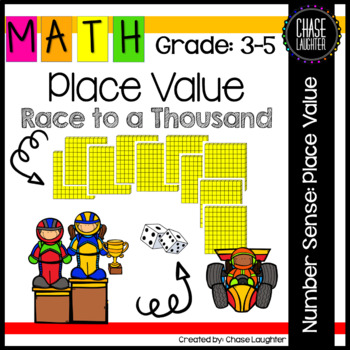 Race to a Thousand: Place Value Game {Math Center}