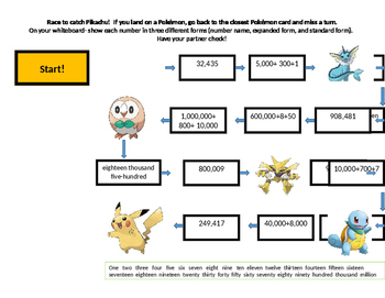 Race to catch Pikachu!
