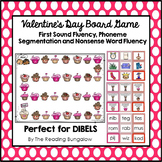 Dibels GAMES to practice FSF, PSF and NWF {Valentine's}
