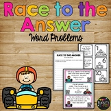 Word Problems Matching Game, Addition and Subtraction, First Grade {QR Codes}