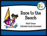 Race to the Beach (Math Game)