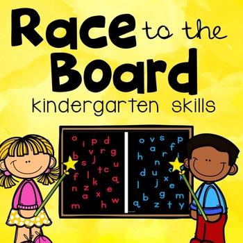 Race to the Board- Kindergarten Skills