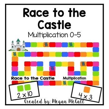 Race to the Castle-Multiplication 0-5