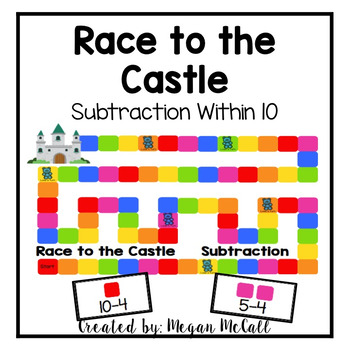 Race to the Castle-Subtraction within 10