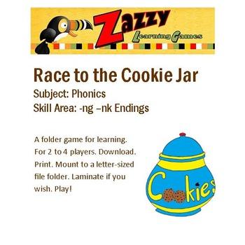 Race to the Cookie Jar Phonics -ng -nk