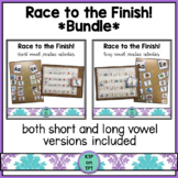 Race to the Finish! Bundle (short and long vowels)