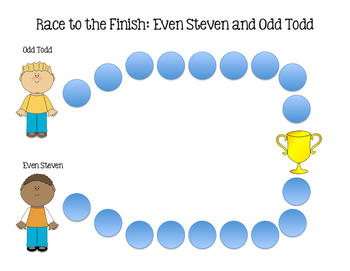 Race to the Finish: Even Steven and Odd Todd