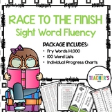Race to the Finish: Sight Word Word Fluency