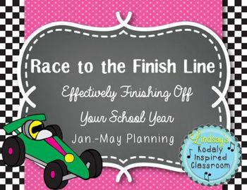 Race to the Finish Line: Effectively Finishing Off Your School Year (Jan-May)