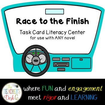 Race to the Finish Literacy Center for ANY Novel