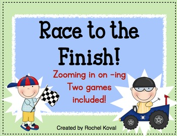 Race to the Finish! (zooming in on -ing endings)