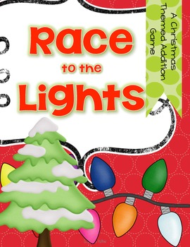 Race to the Lights {an addition game for the Winter Holidays}