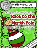 Race to the North Pole Using  Addition Strategies