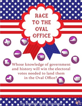 Race to the Oval Office Board Game
