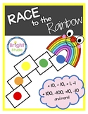 Race to the Rainbow: 10 more, 10 less, 100 more, 100 less