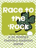 Race to the 'Rock {an addition game for March}