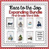First Grade Word Skills Gameboards {EXPANDING BUNDLE}