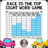 Race to the Top Editable Sight Word Game