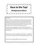 Race to the Top - Multiplication Game