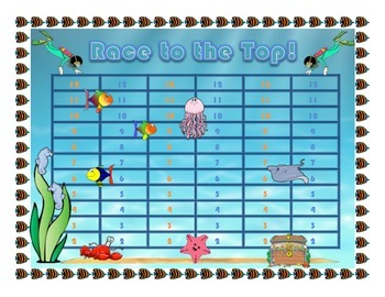 """Race to the Top"" No-Prep Early Addition Game"