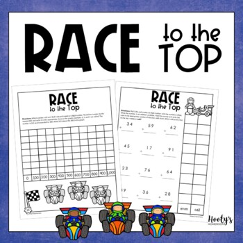 Race to the Top - No Prep Math Centers