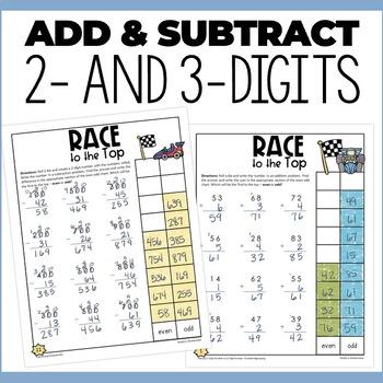 No Prep Math Centers for 3rd Grade